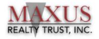 Maxus Realty Trust, Inc.